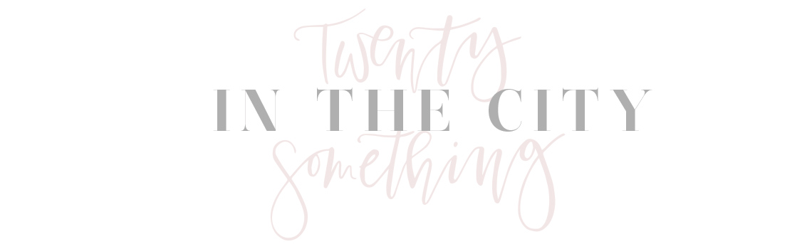 Twenty-Something in the City